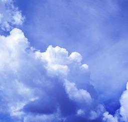 El cielo y la tierra.