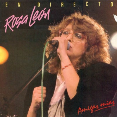 Voy andando sola por la Castellana. Rosa León.